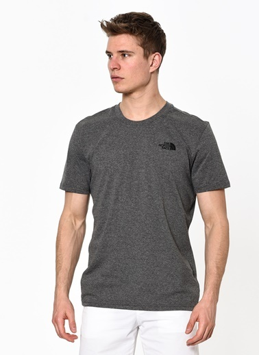 The North Face Sımple Dome Erkek T-Shirt Gri Gri